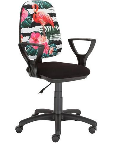 Kancelárska stolička Estera Plameniaky