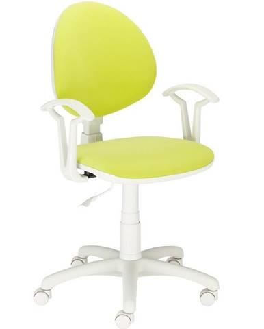 Kancelárska stolička Fado White M-38