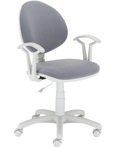 Kancelárska stolička Fado White M-47