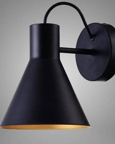 More Svietniková lampa 1x40w E27 Čierna matná