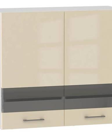 Skrinka do kuchyne Alvico WS80 sklo magnólie BB