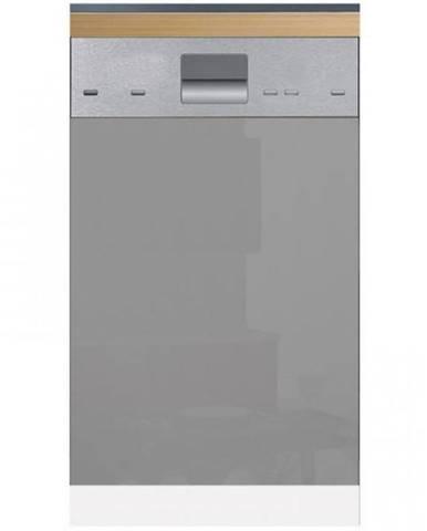 Skrinka do kuchyne Gardena D60FZN dvierka na umývačku 570 X 596 grey