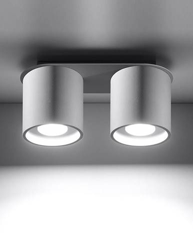 Stropná Lampa Orlando 2 WHITE A-056