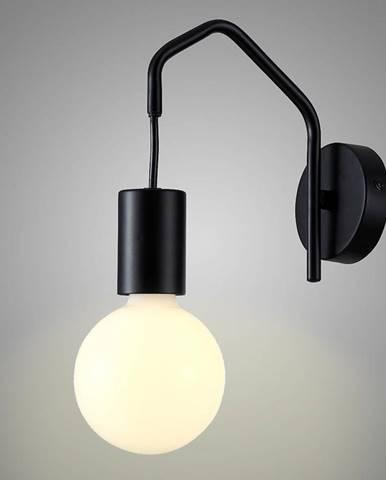Basso Svietniková lampa 1x40w E27 Čierna matná