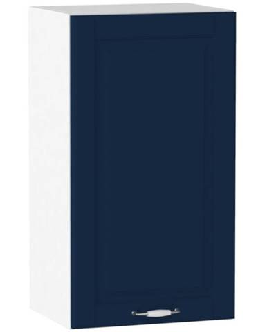 Kuchynská skrinka Moniuszko W40 P/L námornícka modrá mat BB