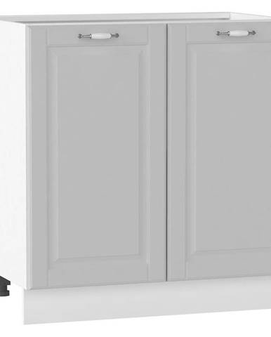 Skrinka do kuchyne Moniuszko D80 šedá matná BB