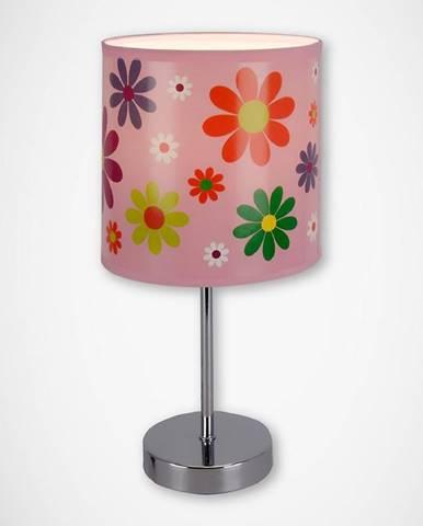 Stolná lampa Nuka E14 pink 03651 LB1