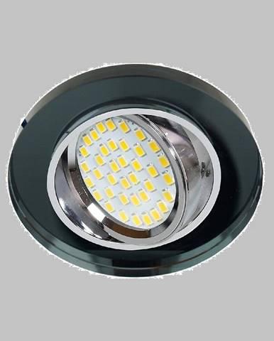 Stropné svietidló SSU-15 CH/BK MR16 okrúhly 2263816