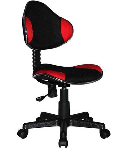 Kancelárske kreslo CX 4113R červená/čierna