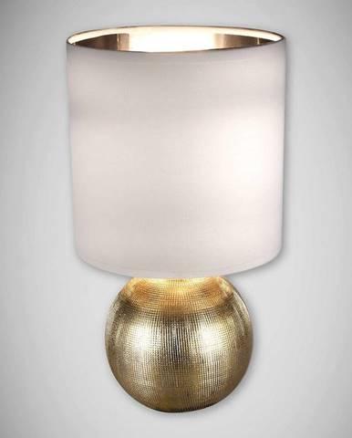 Luster Perlo E14 zlato/biely 03291 LB