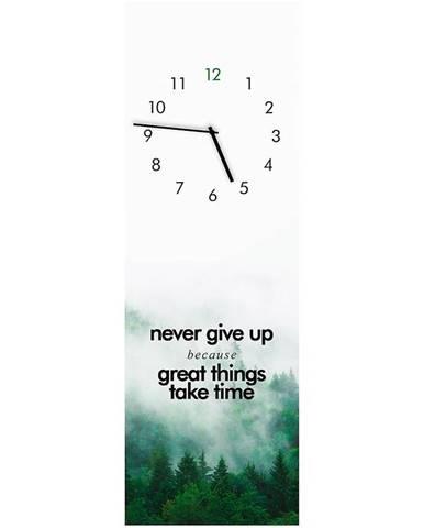 Sklenené hodiny 20X60 GC009 Great things GL-00978