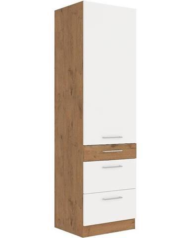 Skrinka do kuchyne Vigo biela HG 60dks-210 3s 1f