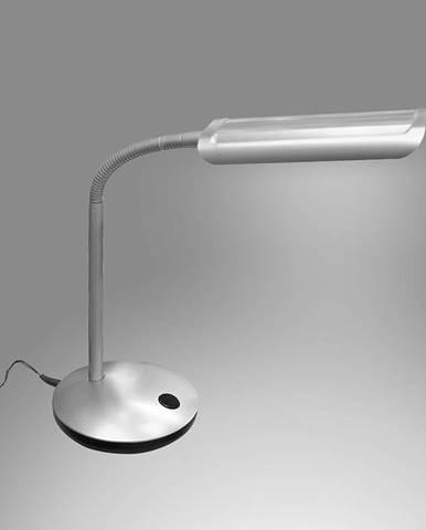 Stolná Lampa QM197B STRIEBORNÁ LED