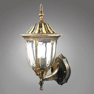 Záhradná lampa Florencja ALU3118UP patina KG1