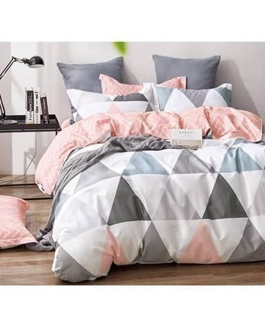 Bavlnená saténová posteľná bielizeň albs-01022b/2 140x200 lasher