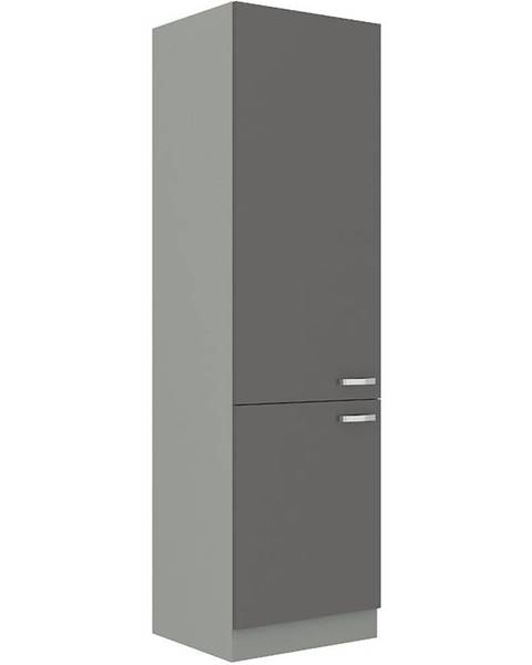 MERKURY MARKET Kuchynská skrinka Grey 60lo-210 2f