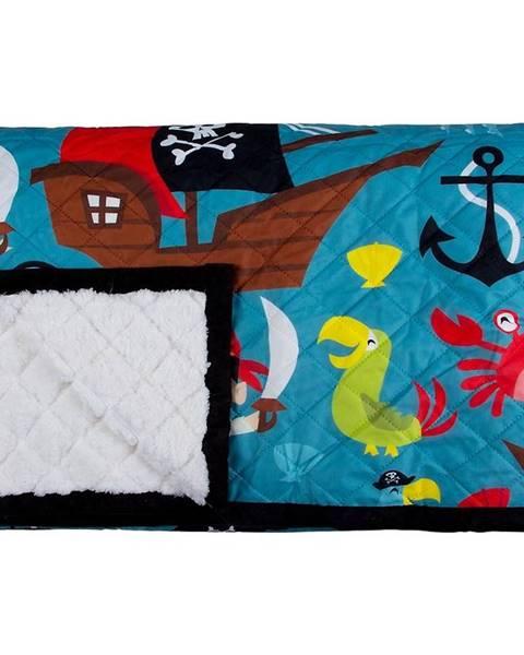 MERKURY MARKET Prehoz pirát 0403-001-75 140x200 zelený