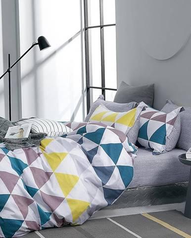 Bavlnená saténová posteľná bielizeň ALBS-01226B 200X220
