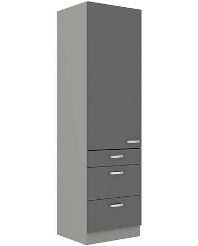 Kuchynská skrinka Grey 60dks-210 1f3s