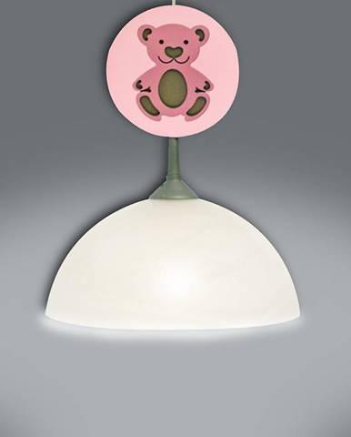 Lampa medveď ružová L1K-012 LW1