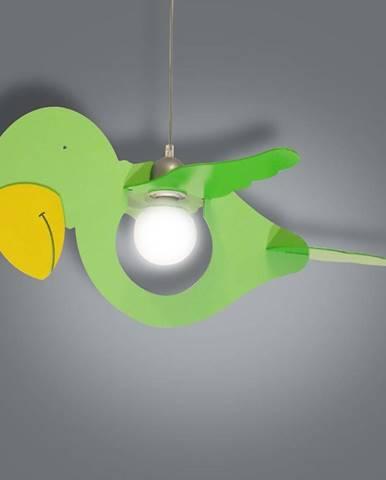 Lampa papagáj zelená L1-12 LW1