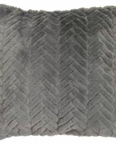 Obliečka Moza 40x40 sivá