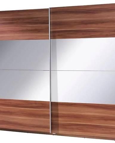 Skriňa Twister 2 225 cm Kraft Wallis/zrkadlo