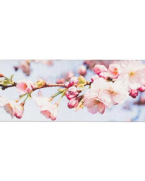 MERKURY MARKET Obrus behúň višňa 2 120x40 ružový