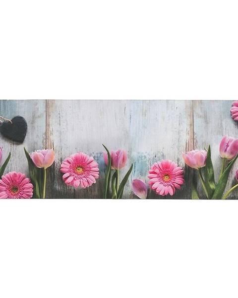 MERKURY MARKET Obrus behúň višňa 3 120x40 ružový