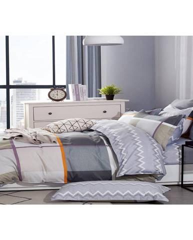 Bavlnená saténová posteľná bielizeň ALBS-01142B/2 140X200 Lasher