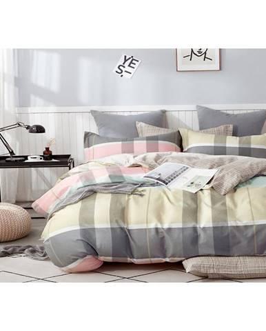 Bavlnená saténová posteľná bielizeň ALBS-01162B/2 140X200 Lasher
