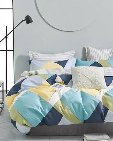 Bavlnená saténová posteľná bielizeň ALBS-01205B