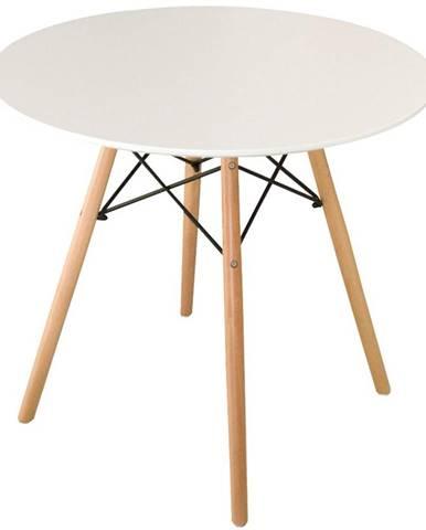 Stôl Oslo biely 70cm