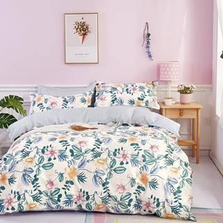 Bavlnená saténová posteľná bielizeň ALBS-01158B/2 140X200 Lasher