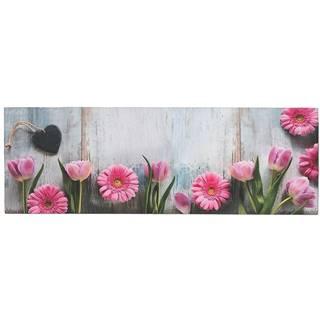 Obrus behúň višňa 3 120x40 ružový