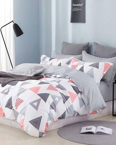 MERKURY MARKET Bavlnená sátenová posteľná bielizeň ALBS-0980B/2 140x200