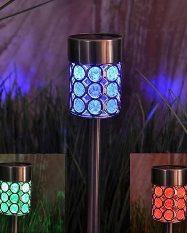 Solární svítidlo GLE728247 LED Metal