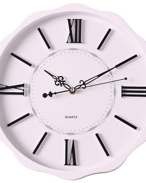 MERKURY MARKET Nástenné hodiny biela 35 cm