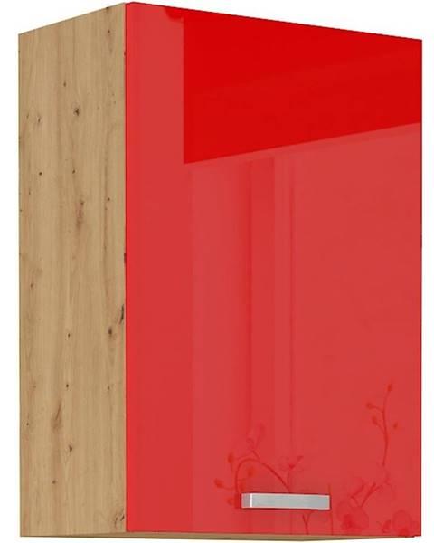 MERKURY MARKET Skrinka do kuchyne Artisan červená lesk 50G-72 1F