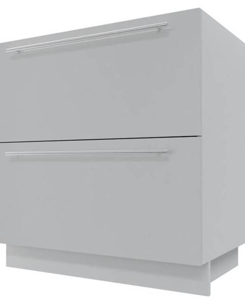 MERKURY MARKET Skrinka do kuchyne Essen grey D2E/60/1E
