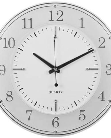 Nástenné hodiny elegant biela 34