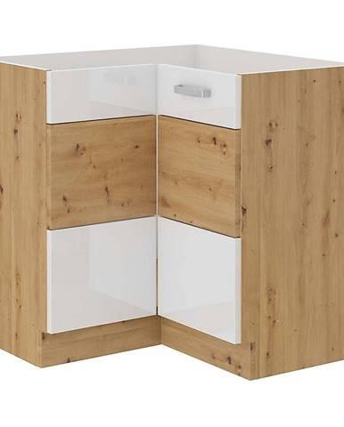 Skrinka do kuchyne ARTISAN biela lesklá 89X89 DN 1F BB