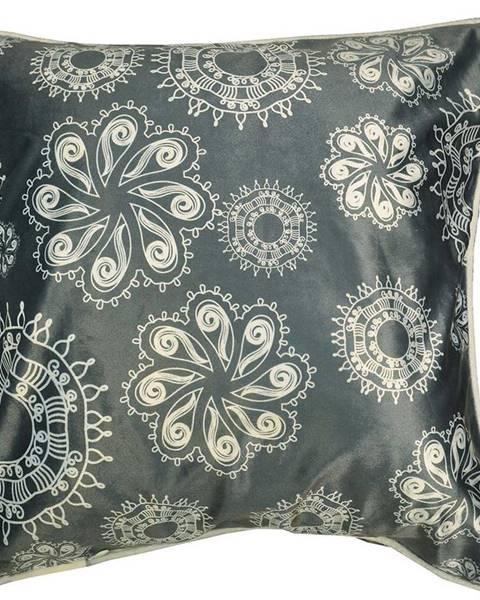 MERKURY MARKET Obliečka na vankúš K22098 45x45 šedá