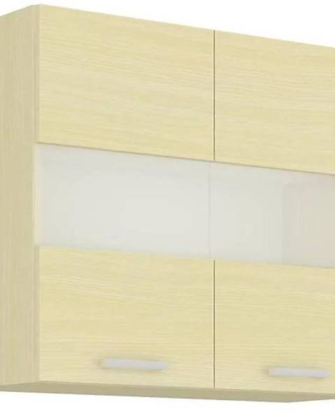 MERKURY MARKET Skrinka do kuchyne Wiktoria chamonix/legno 80GS-72