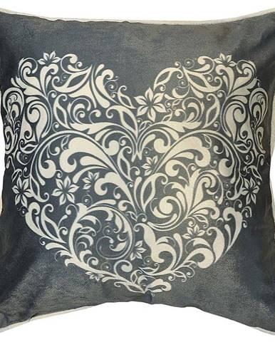 Obliečka na vankúš K22099 45x45 šedá