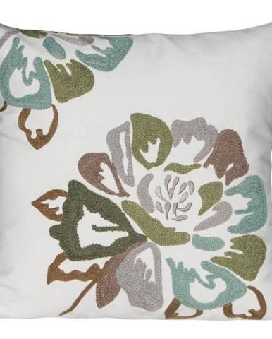 Obliečka na vankúš XA1833 40x40 biela/kvet