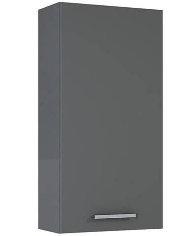 Závesná kúpeľňová skrinka Royal 40 1D anthracite
