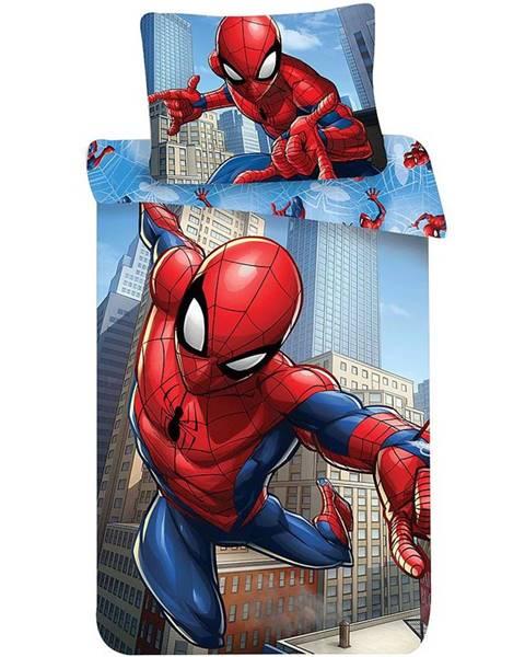 MERKURY MARKET Podstielka Mikro 70x90/140x200 Spider-Man ˝BLUE˝