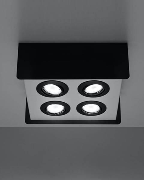 MERKURY MARKET Stropná Lampa Quadro 4 BLACK A-412