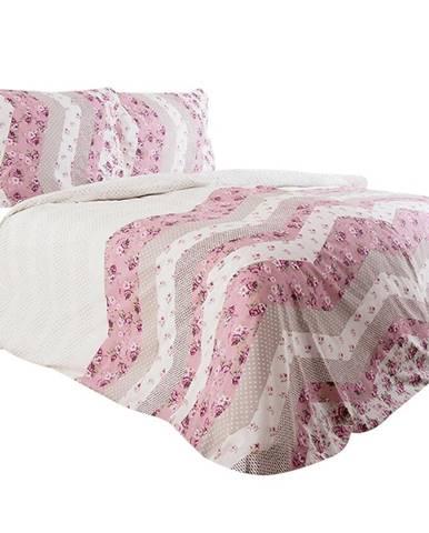 Bavlnená  saténová  posteľná  bielizeň  70x90/140x200  Freja